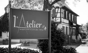 logo l'ATELIER BTS Métiers de la Coiffure lycée Geiler Strasbourg