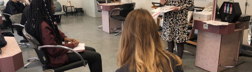formation Schwartzkopf BTS métiers de la coiffure Strasbourg lycée Jean Geiler 1
