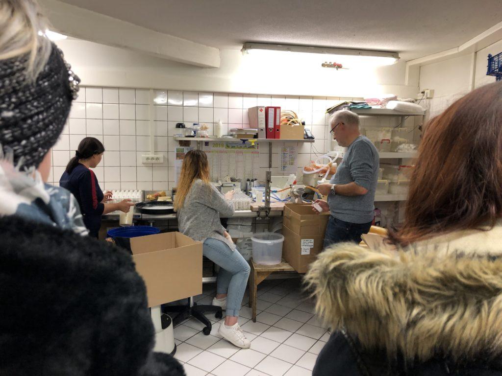 Visite Ascolex Geispolsheim BTS métiers de la coiffure Strasbourg lycée Jean Geiler 2